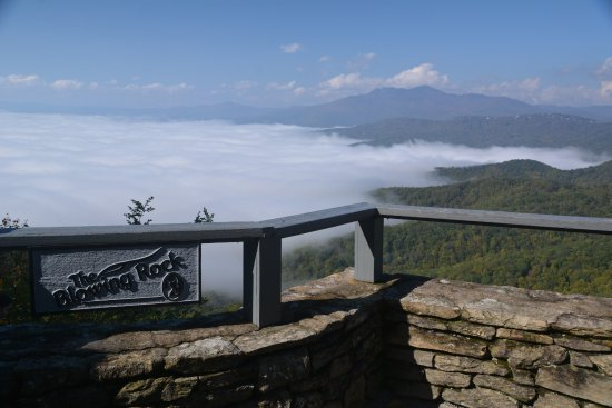 View fromThe Blowing Rock!