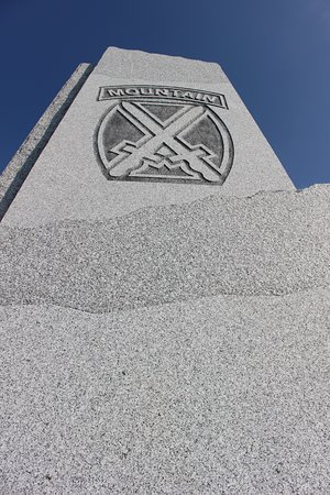 Honor the Mountain Monument: 10th Mountain