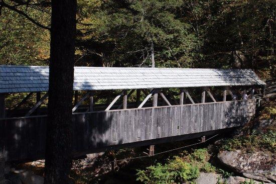 Franconia, Nueva Hampshire: The covered bridge
