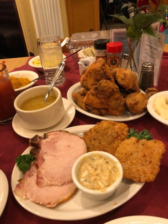 Bavarian Inn Restaurant Family Style Dinner