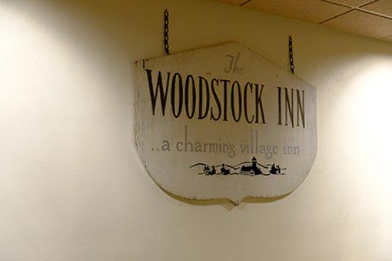 Woodstock Inn and Resort: Signage