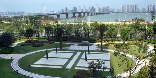 Nanchang, Cina: Outdoor Garden