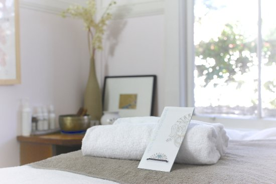 "Leura, Australia: Our calm and relaxing ""lotus"" therapy room"