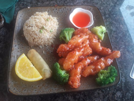 Lamar, CO: Wonderful presentation of General Tao Chicken