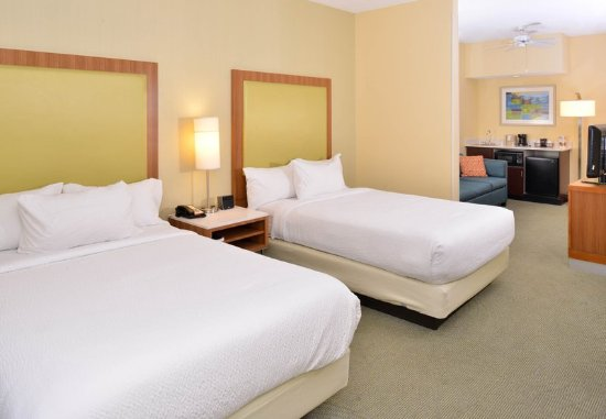 Pinehurst, NC: Double/Double Suite Sleeping Area