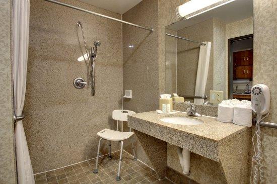 Comfort Suites Waco: Bathroom Accessible Walk In Shower