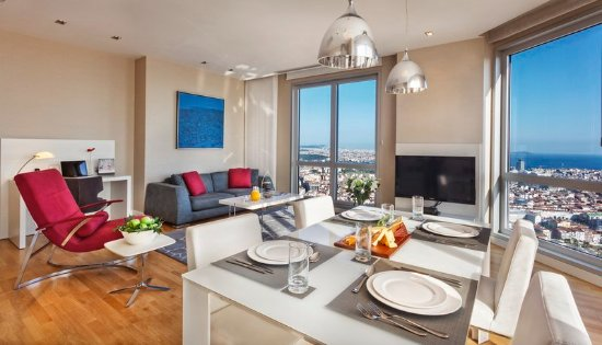Fraser Place Anthill Istanbul: Two Bedroom Dining and Living