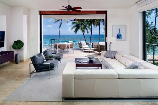 Dorado Beach, a Ritz-Carlton Reserve: Two Bedroom Residence Mid/Second Floor Living Ocea