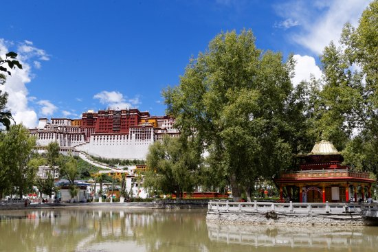 Lhasa, China: View of the Potala Palace