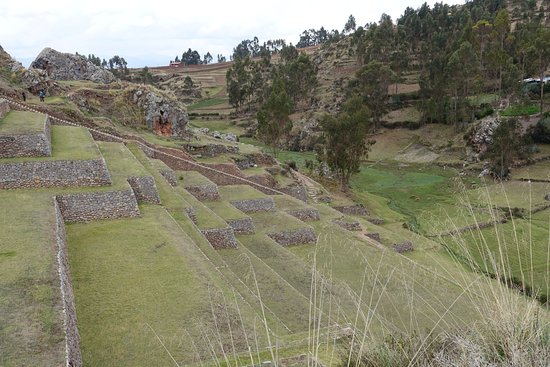 Complejo Arqueologico Chinchero: Terraces and stairs