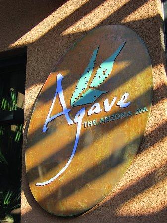 The Westin Kierland Resort & Spa: Agave Spa Signage