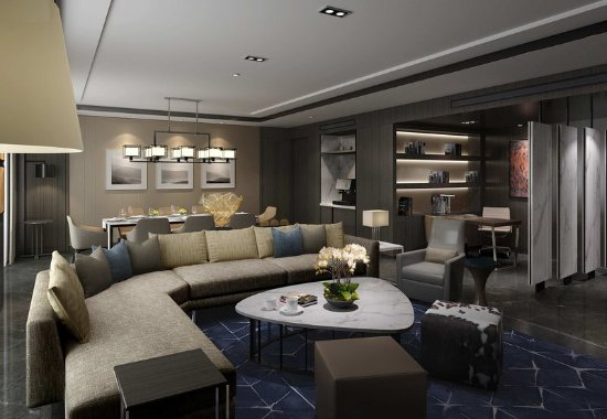 Xinchang County, China: Vice Presidential Suite - Living Room