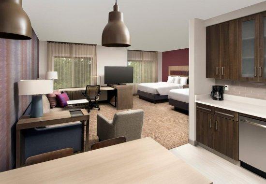 Residence Inn Baltimore Owings Mills: Queen/Queen Studio Suite