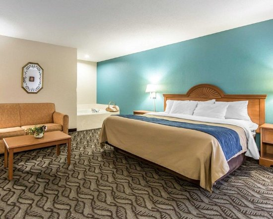 Circleville, OH: Well-equipped guest room