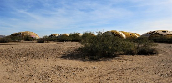 The Domes of Casa Grande