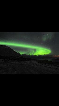 Hafnarfjordur, Islandia: Northern lights
