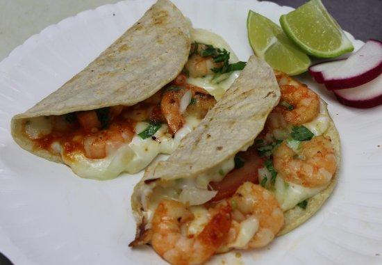 Idaho Falls, ID: shrimp tacos