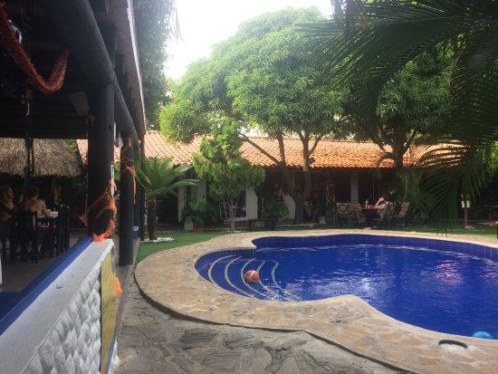 The Dreamer Hostel: Courtyard w/ Pool