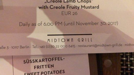 Midtown Grill Berlin: photo0.jpg