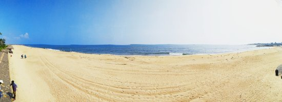 Beach panorama shot