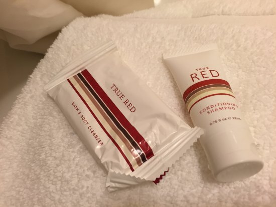 Bathroom amenities, Red Roof Inn Virginia Beach ,196 Ballard Ct, Virginia Beach, VA
