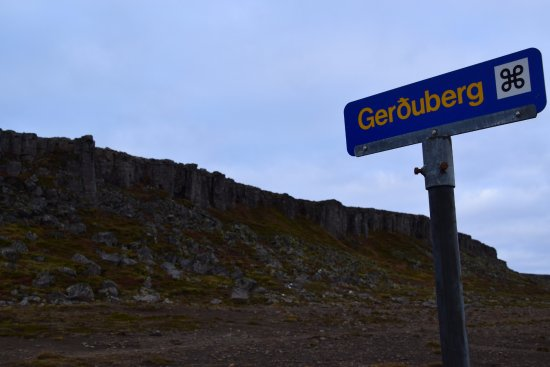 West Region, Island: Gerduberg