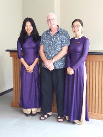Bizu Boutique Hotel Phu My Hung: Wonderful reception staff