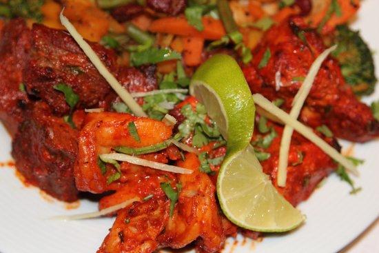 Sagarmatha: Tandoor mix dish for a person