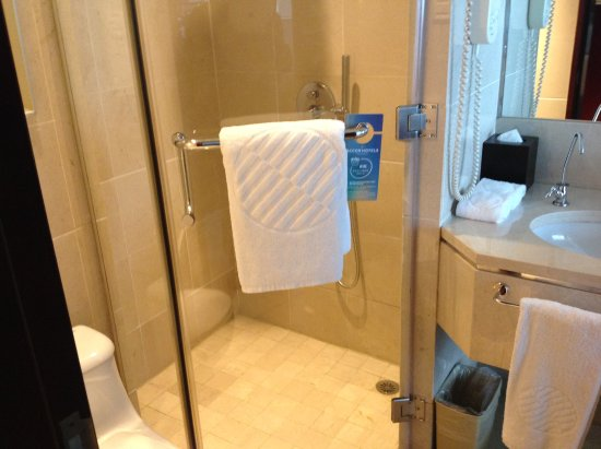 Pullman Guangzhou Baiyun Airport: Bath and a shower in room