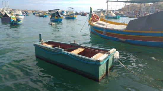 Marsaxlokk, Malta: small and funny boat