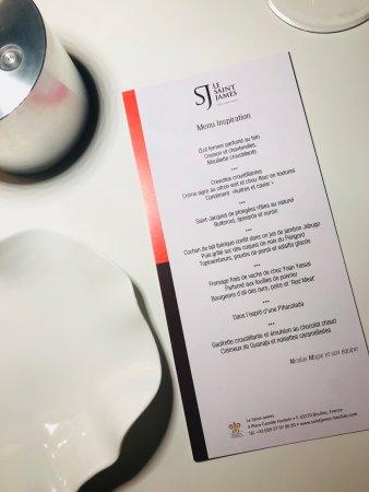Bouliac, Frankrike: Restaurant Le Saint-James Relais & Chateaux