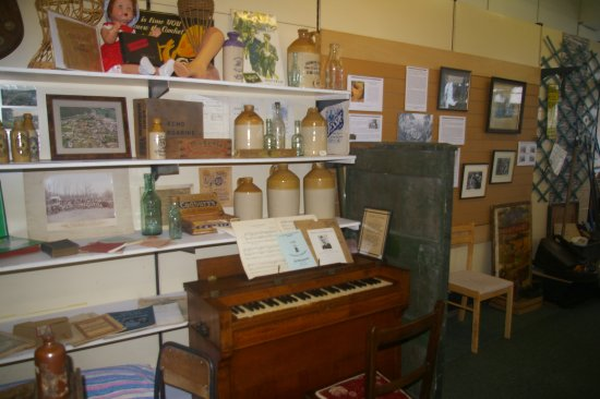 Knighton, UK: Children love to play the old chapel harmonium - even though it wheezes a bit.