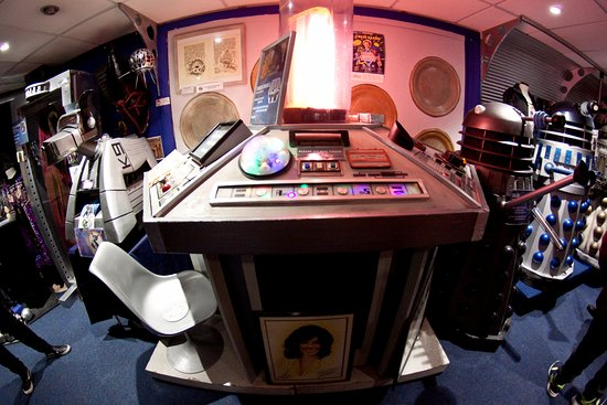 The Who Shop: console tardis