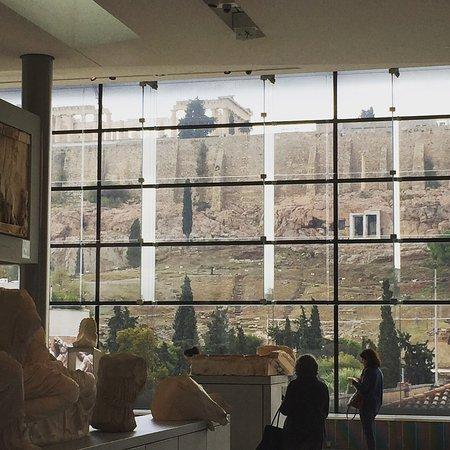 Μουσείο Ακρόπολης: Akropolis - set fra museet