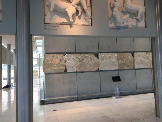Μουσείο Ακρόπολης: Frisen på Panthenon
