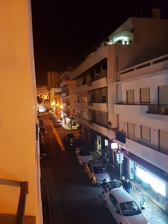 Stay Hotel: Vue du balcon de la chambre