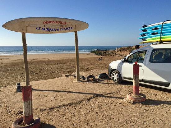 Surf Star Morocco: Anza beach