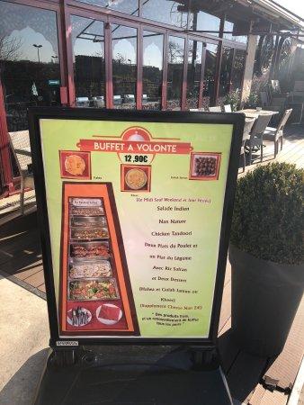 Lal qila torcy omd men om restauranger tripadvisor - Torcy centre commercial ...
