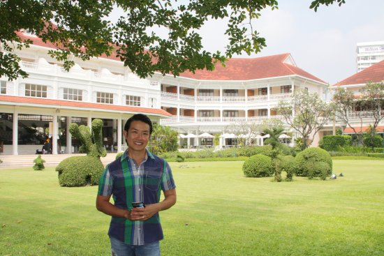 Centara Grand Beach Resort & Villas Hua Hin: Great Victorian Colonial buildings