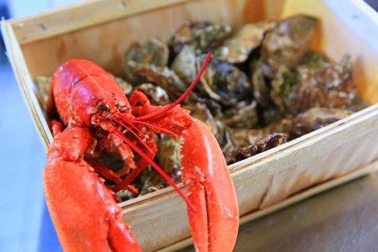 Escalles, Fransa: Fruits de Mer