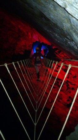 Blaenau Ffestiniog, UK: Rope Bridge