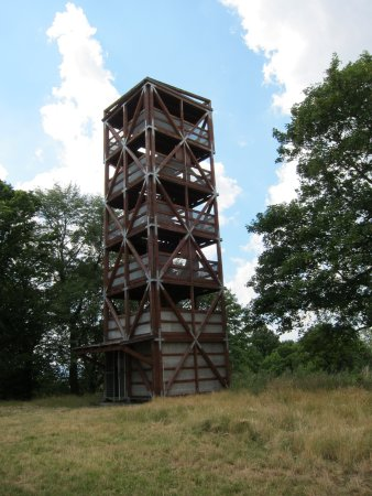 Horsovsky Tyn, República Checa: Rozhledna Šibeniční vrch