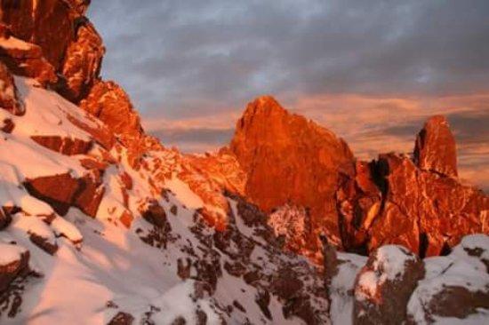 Naro Moru, Kenia: Mt Kenya climbing