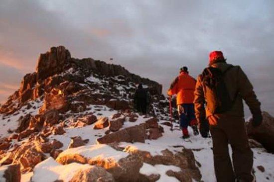 Naro Moru, Kenya: Mt Kenya climbing