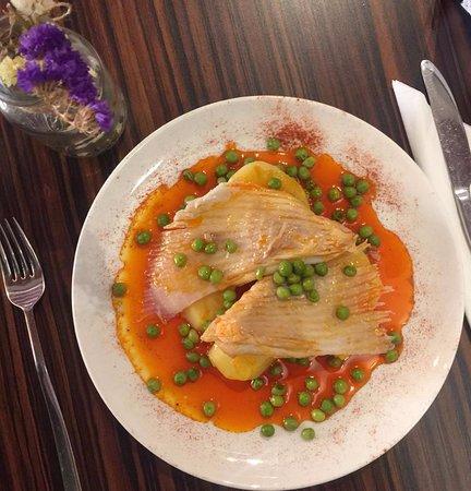 Raya a la gallega en el menu del dia terracota for Cocinar raya a la gallega