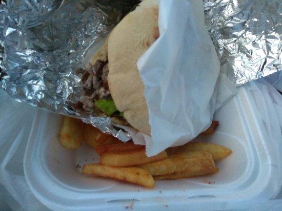 Miramar, Φλόριντα: Delicious beef shawarma