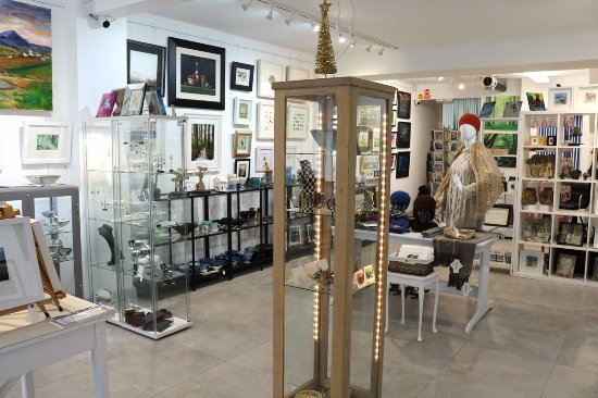 Ballycastle, UK: Ceramics, paintings, jewellery, Designer knitwear, sculpture - all made in Ireland