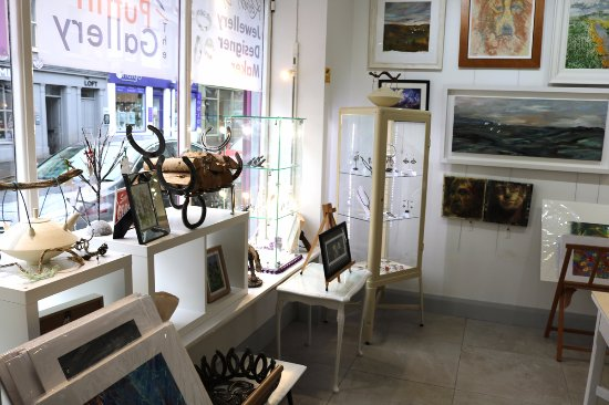 Ballycastle, UK: An eclectic collection of art and high end crafts from Ireland