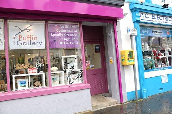 The Puffin Gallery: Find us in Ann Street beside PC electrics, 44 Ann Street, Ballycastle