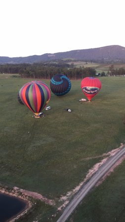 Pokolbin, Australia: Flying